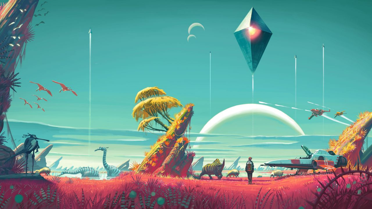 No Man's Sky pesa 6 GB, Hello Games sta lavorando al primo aggiornamento