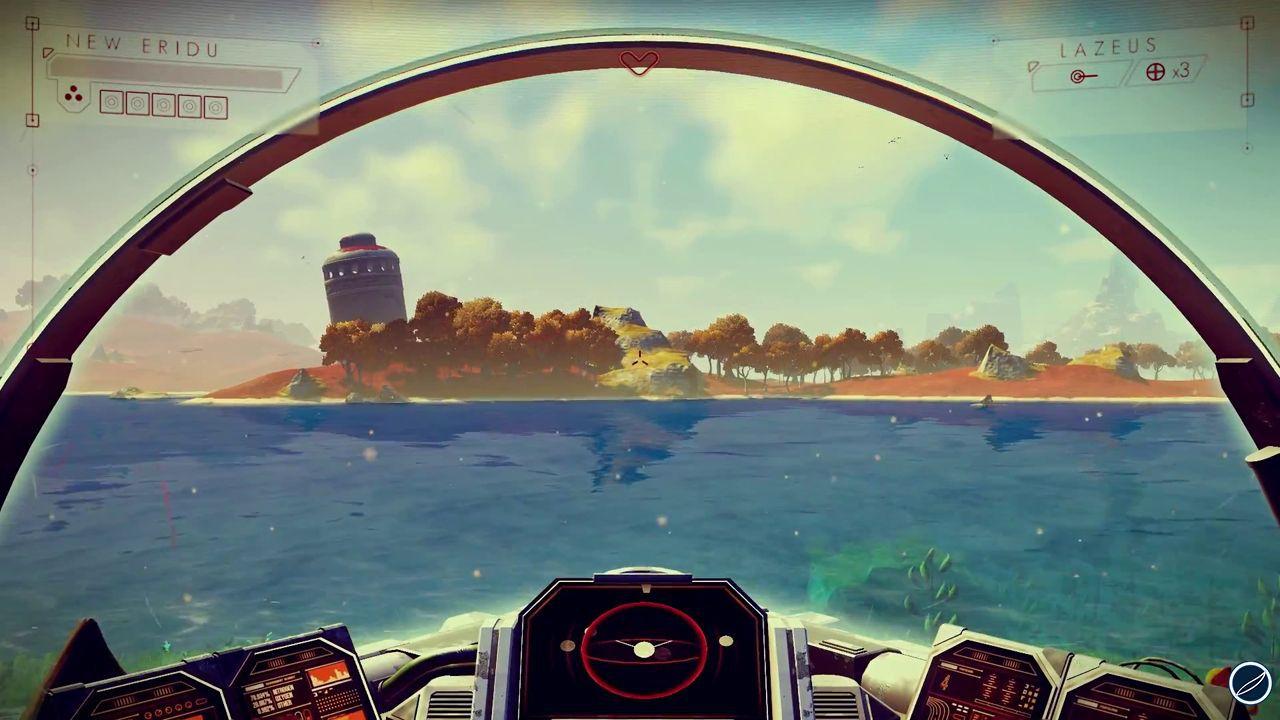 No Man's Sky: Potrebbero volerci 200 ore per attraversare il mondo di gioco