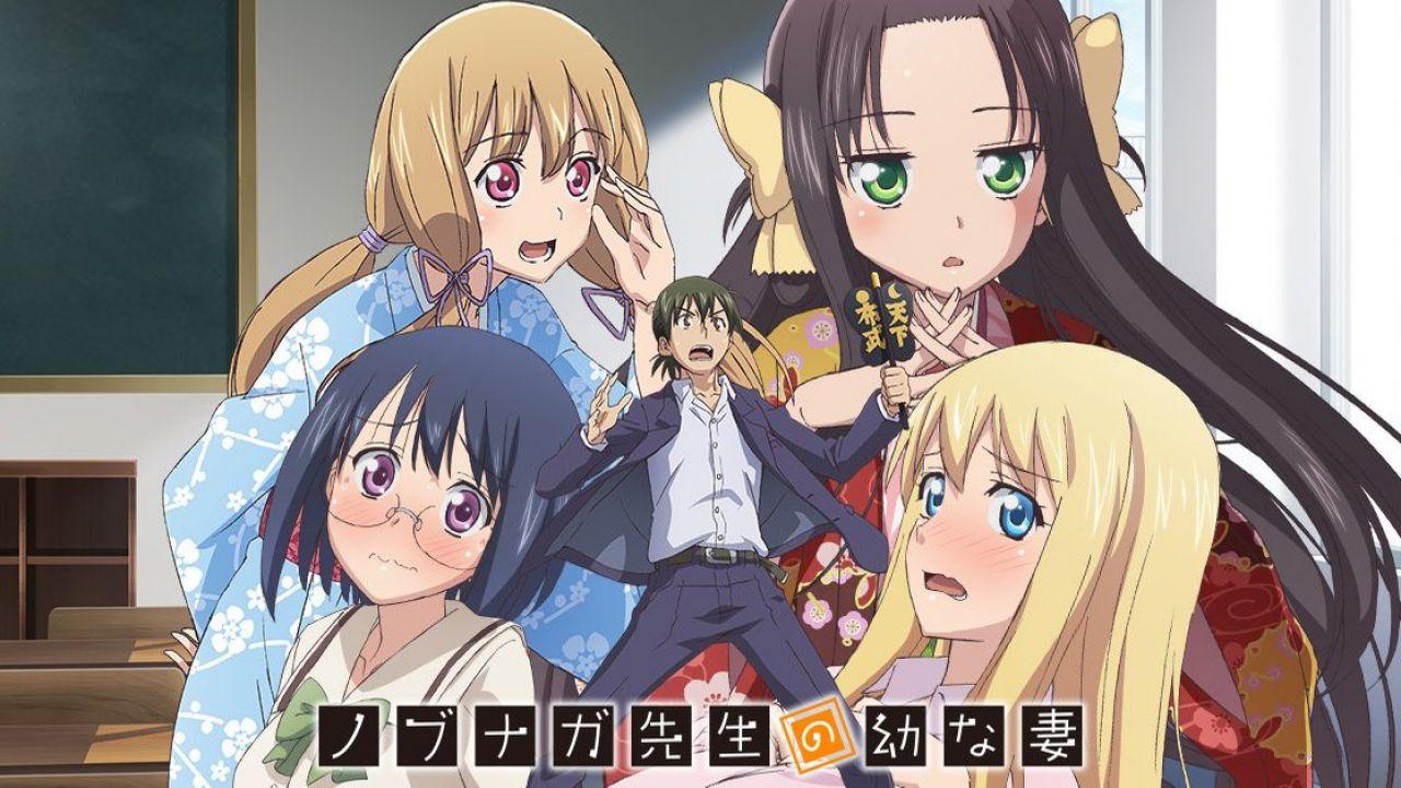Nobunaga Sensei no Osanazuma: il manga di Azure Konno diventerà un anime