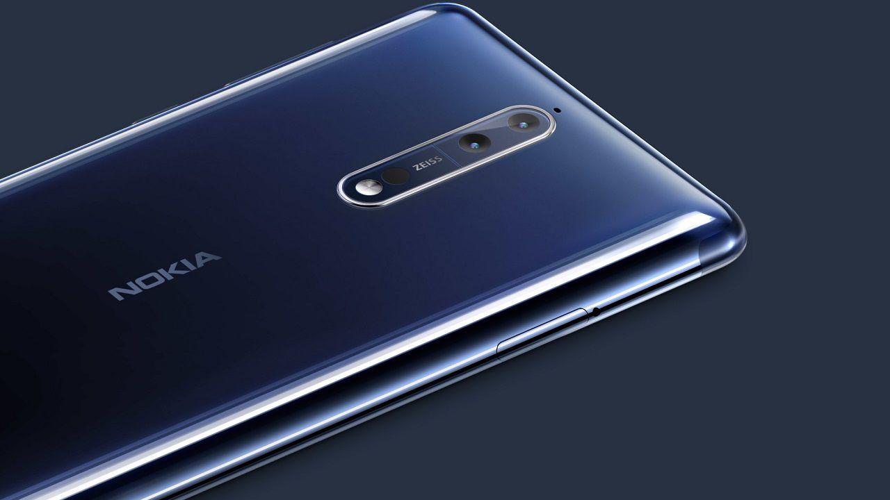 Nokia lancia in Italia il top di gamma Nokia 8, le immagini dall'evento