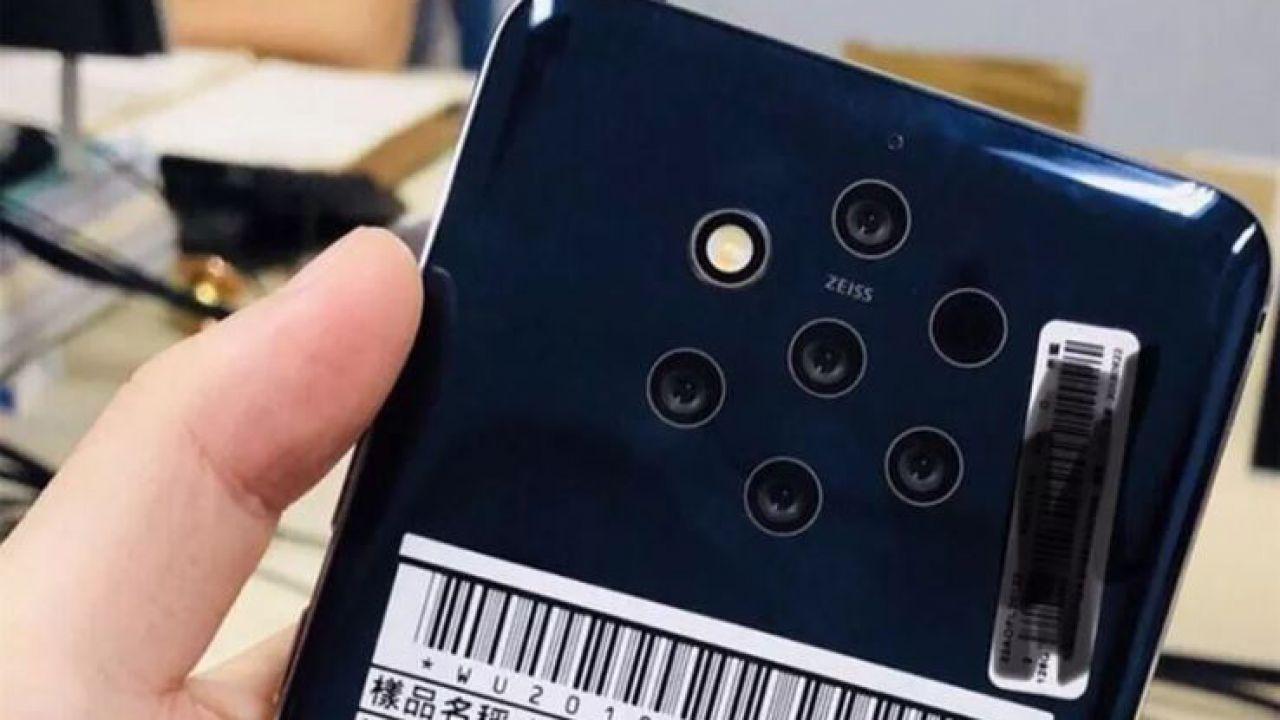Nokia produrrà uno smartphone con 5 fotocamere? Ecco le prime immagini