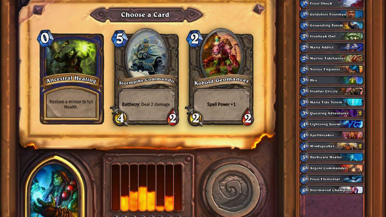 Non è prevista una modalità co-op per Hearthstone Heroes of Warcraft