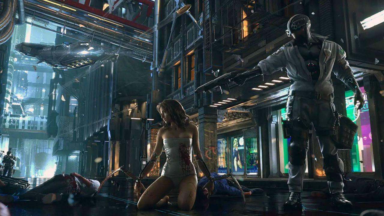 Non si parla di Cyberpunk 2077 prima del 2017