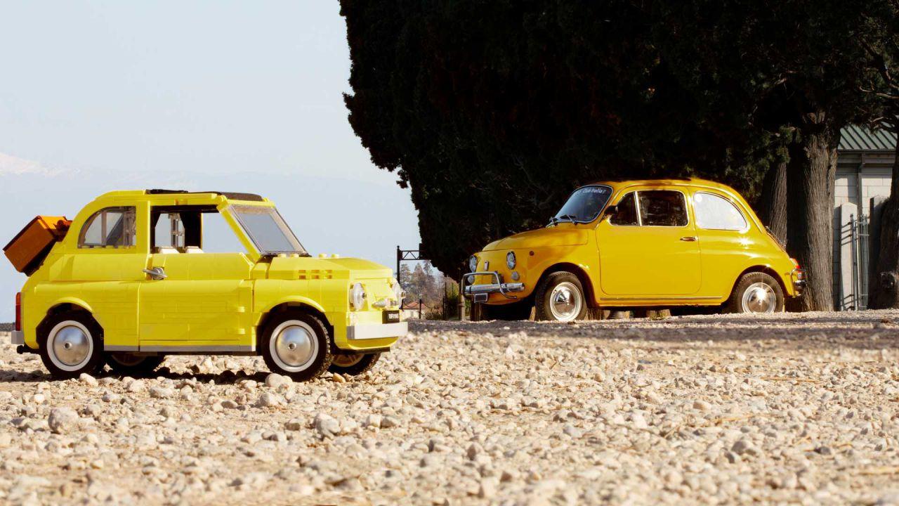 Nostalgici della Fiat 500 degli anni '60? LEGO accontenta anche voi