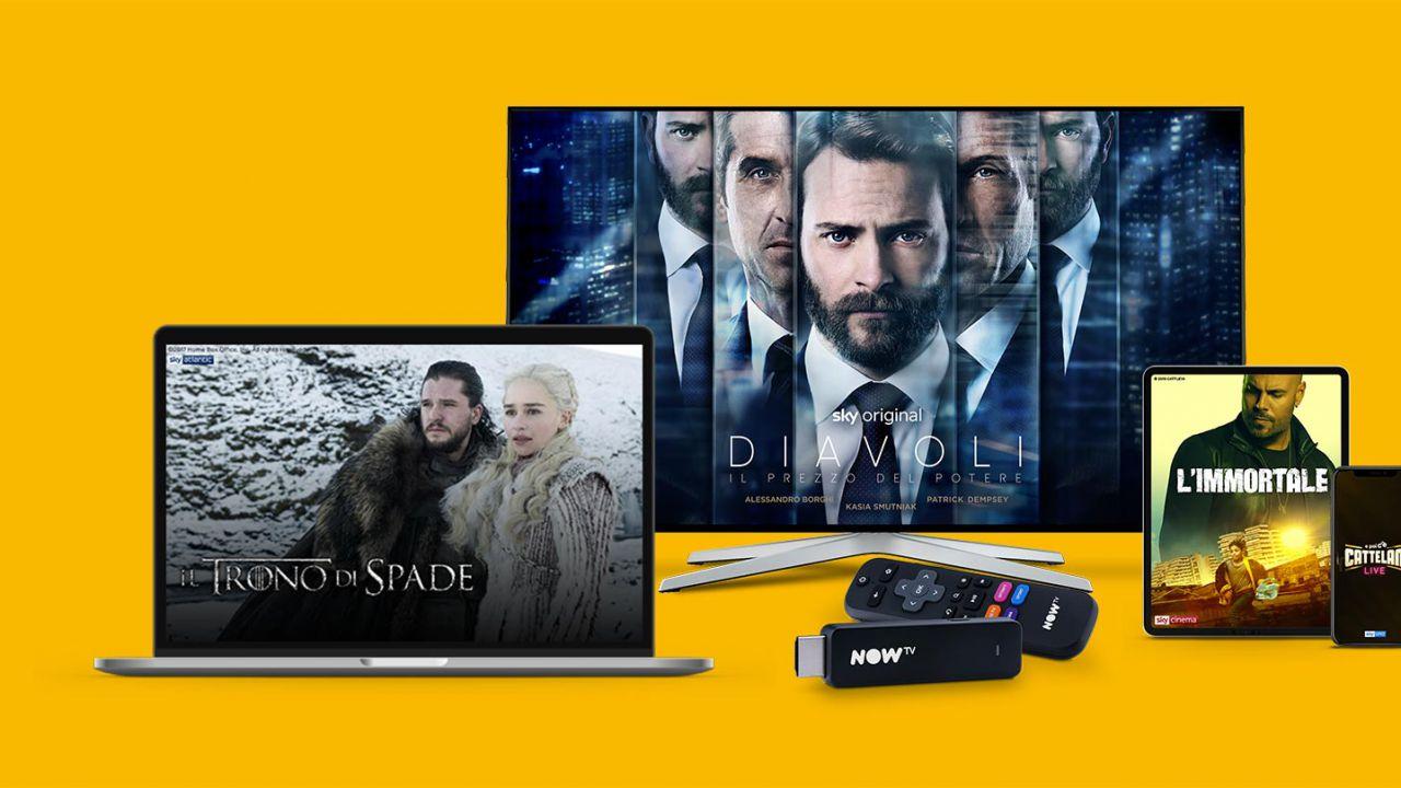 Now TV ora regala 7 giorni di prova gratuita ai nuovi clienti