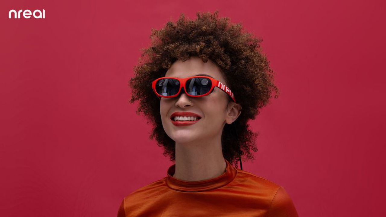 nreal mostra al CES gli occhiali per la realtà mista superleggeri