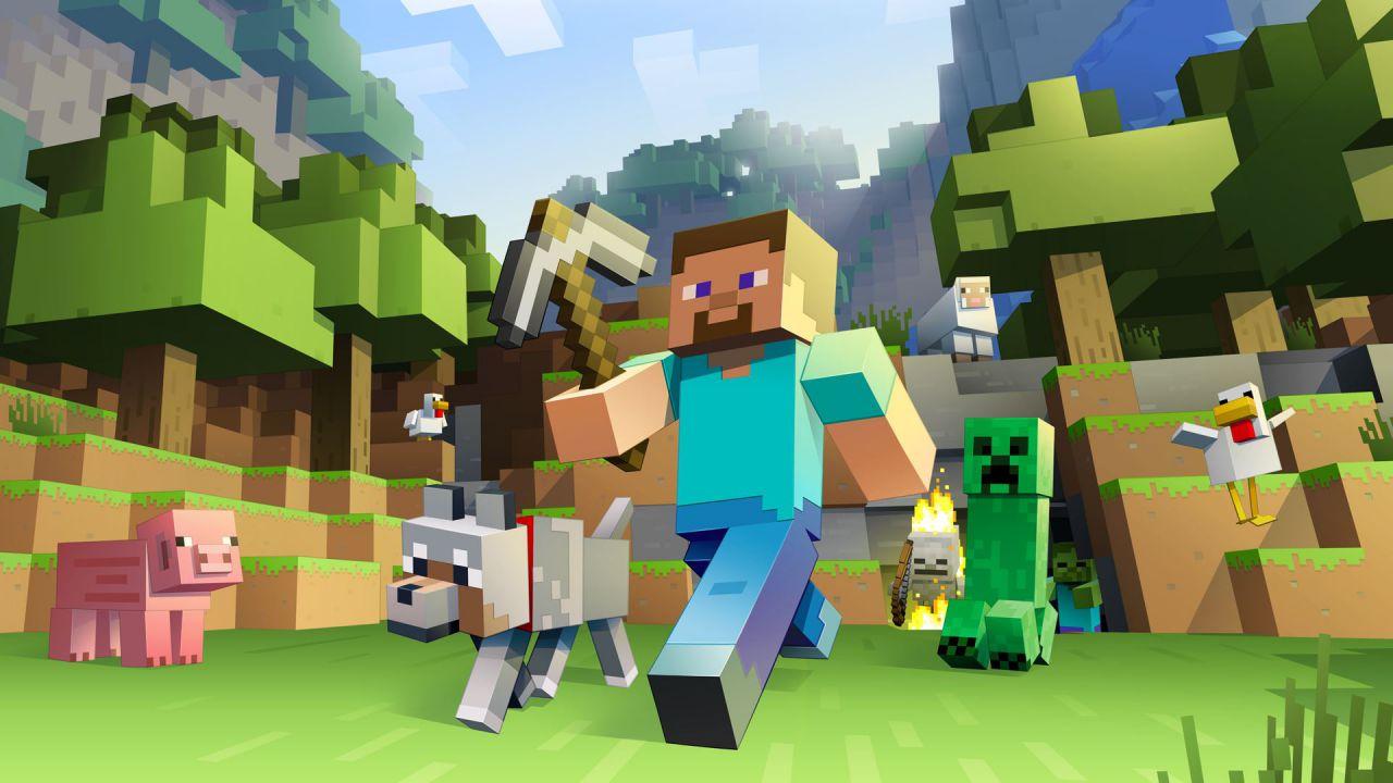 Numeri da record per la beta di Minecraft su Windows 10