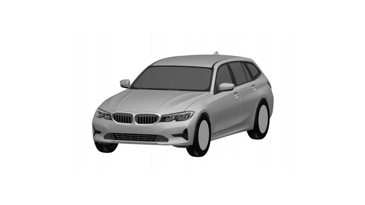 Nuova BMW Serie 3 Touring: in rete i bozzetti della station wagon tedesca
