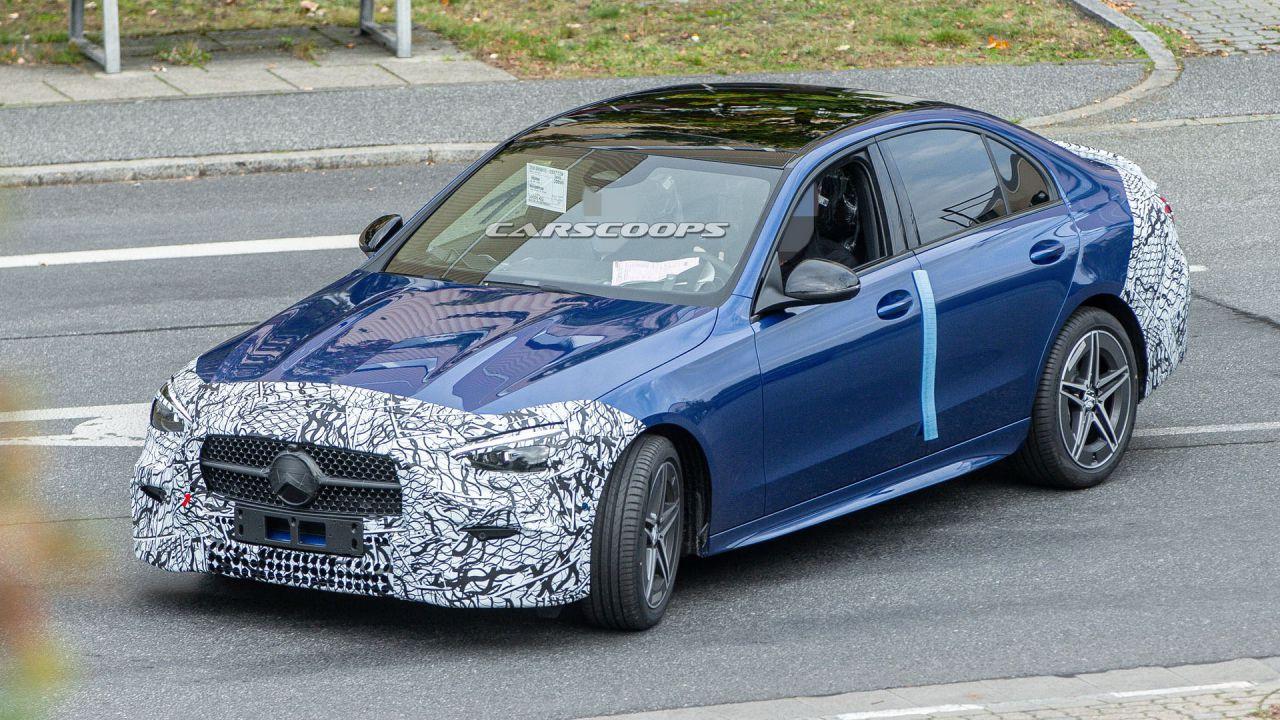 Nuova Mercedes Classe C: avvistamento rivela un design elegante
