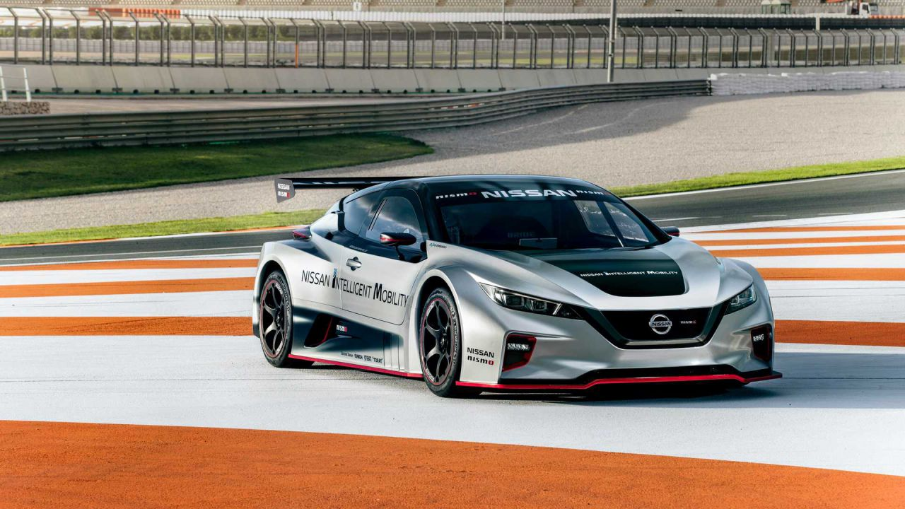 Nuova Nissan LEAF Nismo RC: oltre 300 CV di potenza elettrica