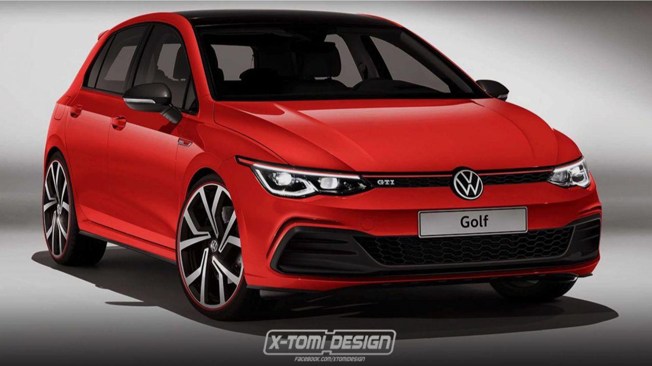 nuova volkswagen golf 8 gti e gti tcr fino a 290 cv. Black Bedroom Furniture Sets. Home Design Ideas