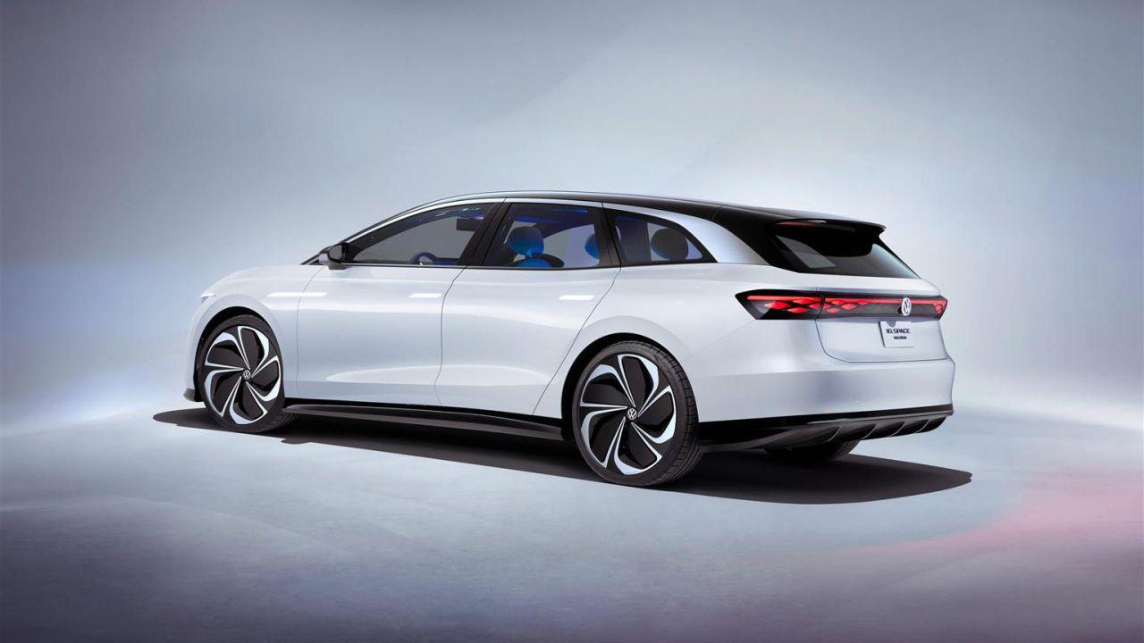 Nuova Volkswagen ID. SPACE VIZZION elettrica: la GT spaziosa quanto un SUV