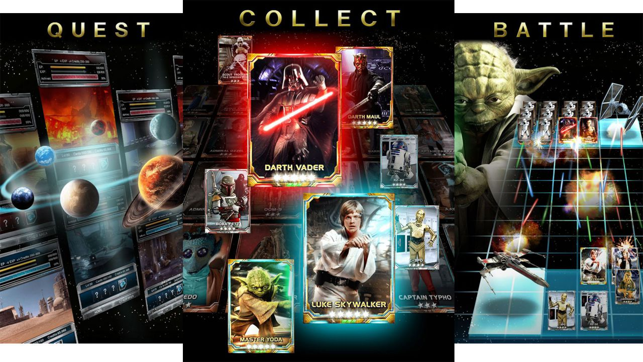 Nuove carte dedicate a Rogue One per Star Wars Force Collection