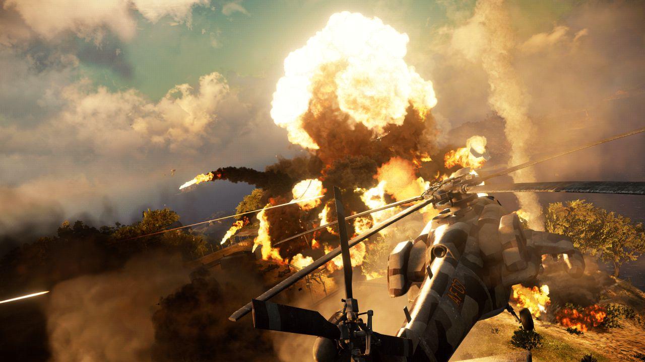 Nuove esplosive immagini di Just Cause 3