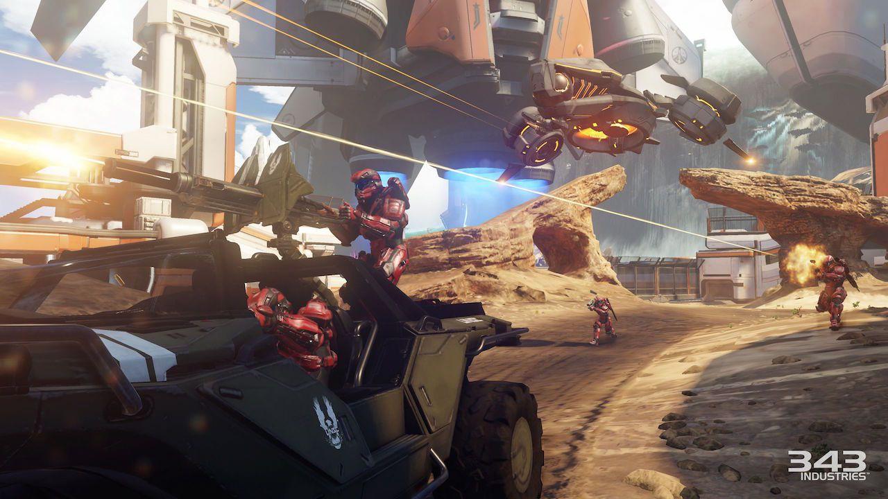 Nuove immagini della modalità Warzone di Halo 5 Guardians