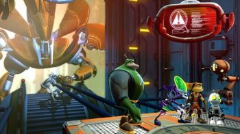 Nuove immagini ed un video gameplay per Ratchet & Clank All 4 One