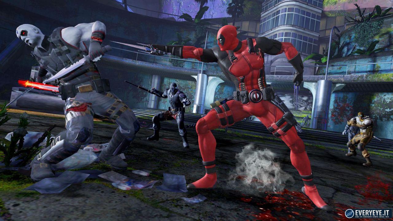 Nuove immagini per Deadpool: The Game