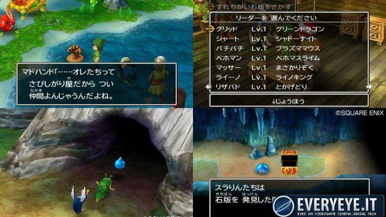 Nuove immagini per Dragon Quest VII per 3DS