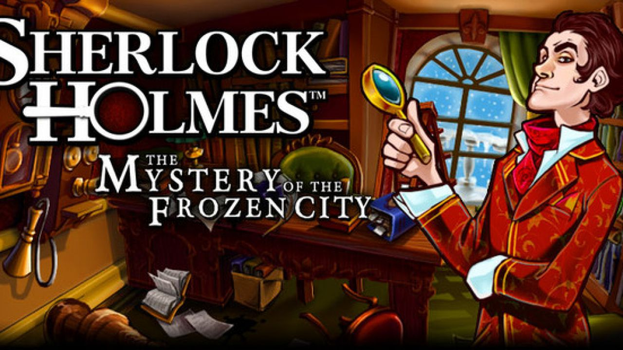 Nuove immagini per Sherlock Holmes and the Mystery of the Frozen City per 3DS