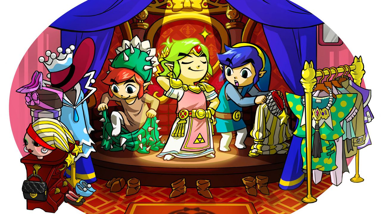 Nuove immagini per The Legend of Zelda: Tri Force Heroes