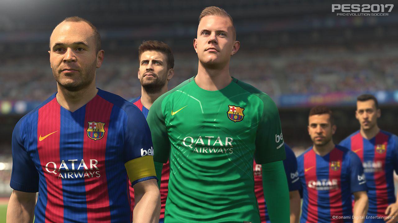 Nuove immagini di Pro Evolution Soccer 2017