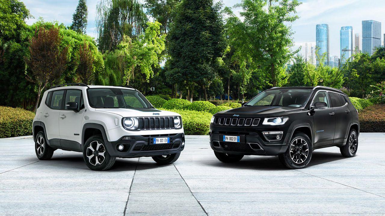Nuove Jeep Renegade e Compass 4xe First Edition: le nuove ibride plug-in di casa Jeep