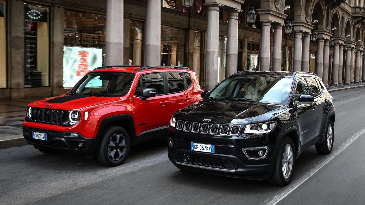 Nuove Jeep Renegade e Compass Plug-In Hybrid, compatibili con i 6.500 euro di bonus 2020