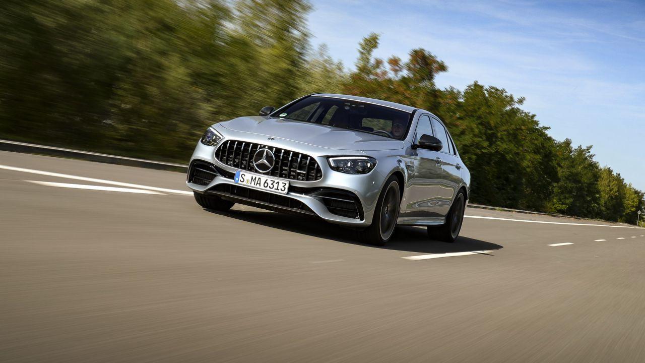 Nuove Mercedes-AMG Classe E: finalmente le possiamo osservare