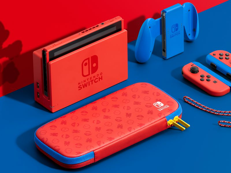 New Nintendo Switch offers from GameStopZing, Super Mario Edition console in pre-order