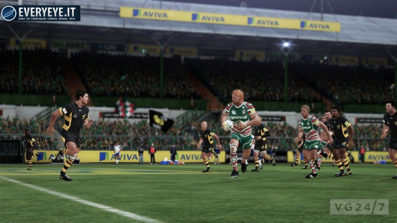 Nuovi dettagli e screenshot di Rugby Challenge 2: The Lions Tour Edition