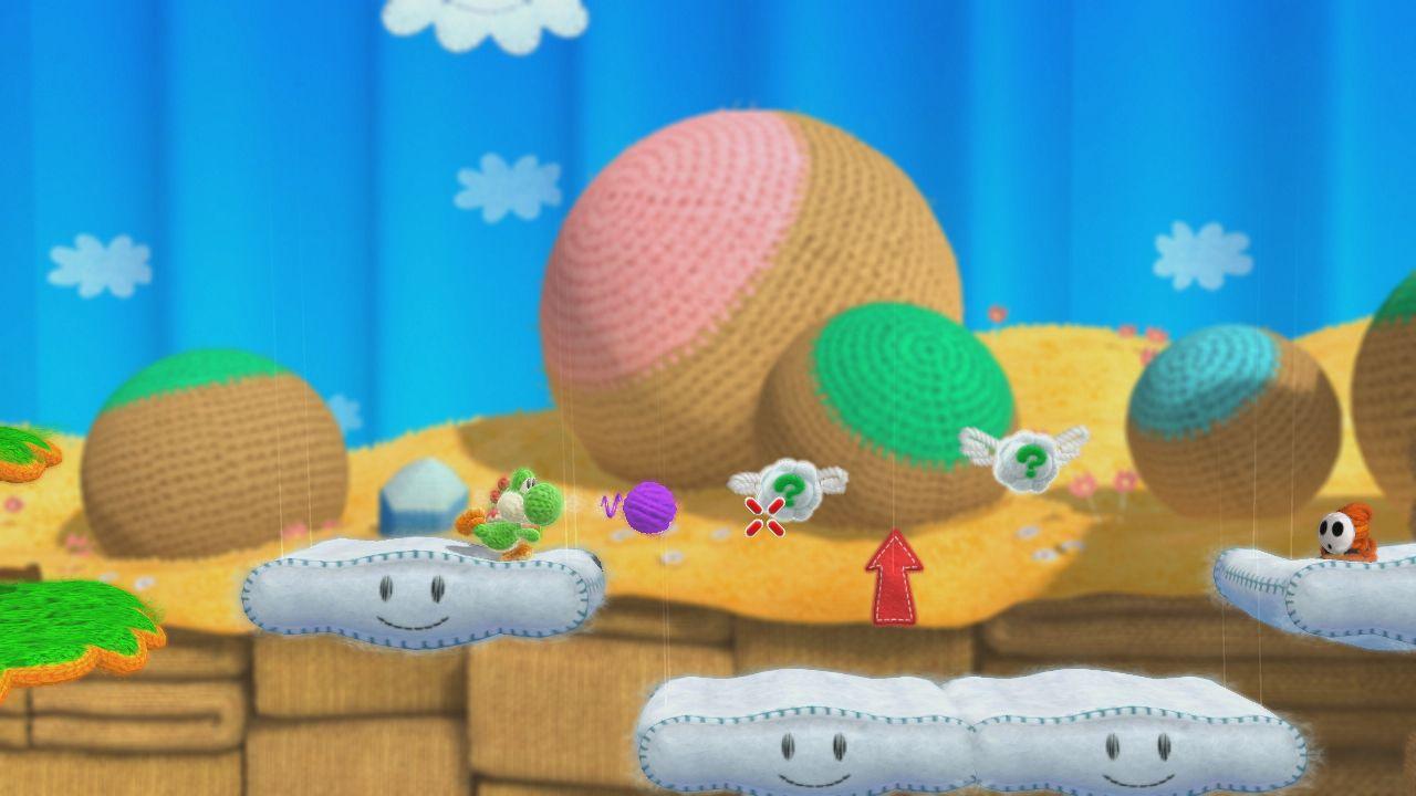 Nuovi dettagli sul supporto Amiibo in Yoshi's Woolly World