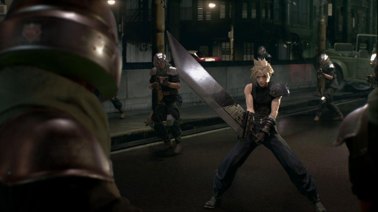 Nuovi scatti ed un evento in streaming da 48 ore per Final Fantasy VII Remake