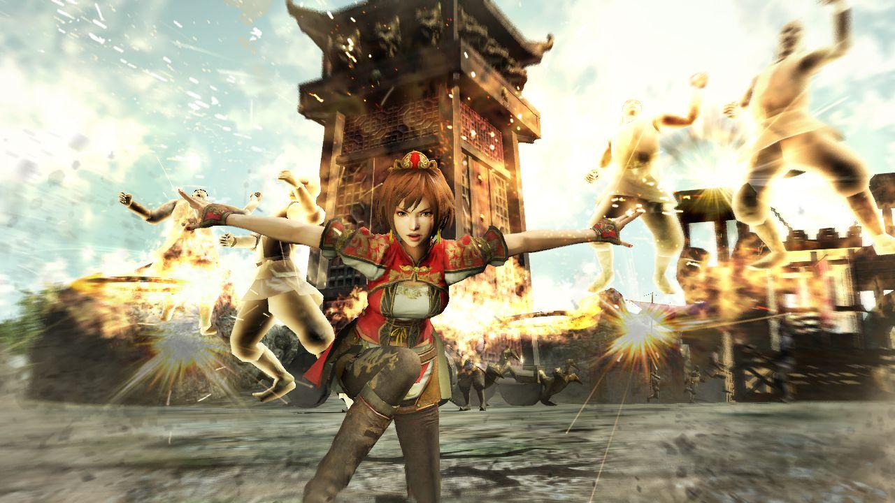 Nuovi video gameplay di Dynasty Warriors 8 mostrano alcune armi molto particolari
