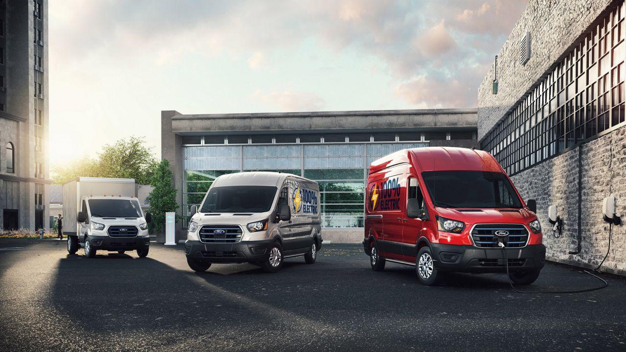 Nuovo Ford E-Transit, il veicolo commerciale 100% elettrico arriva in Europa