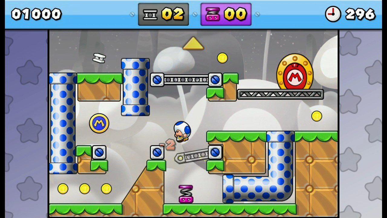 Nuovo video gameplay di Mario vs Donkey Kong Tipping Stars