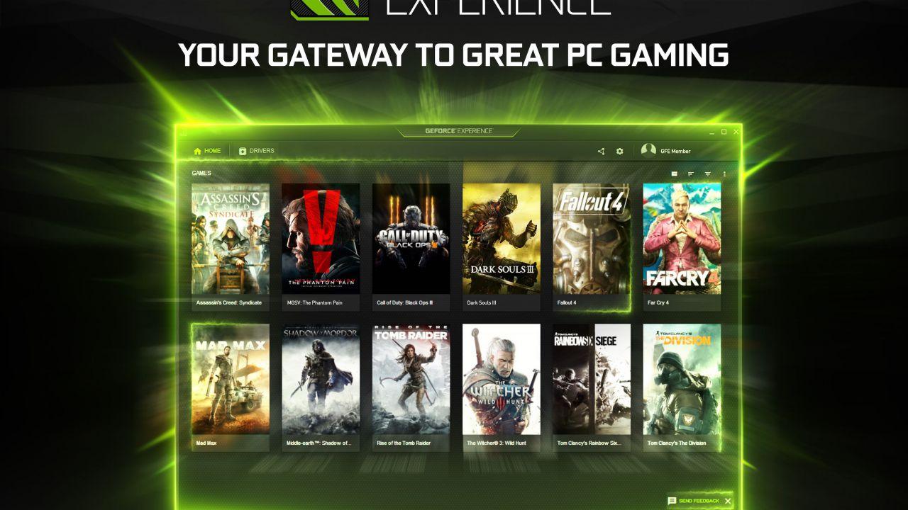 NVIDIA pubblica GeForce Experience 3.0, ora disponibile per il download