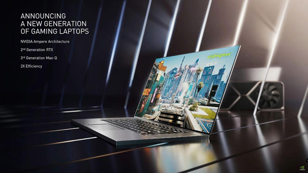 NVIDIA, la regina dei notebook entry level si chiama RTX 3050 e ha 2048 CUDA Core