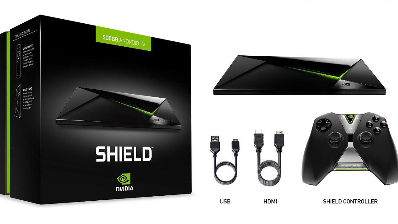 NVIDIA SHIELD Android TV arriva in Italia questa settimana