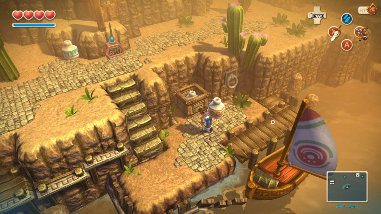 Oceanhorn Monster of Uncharted Seas sarà disponibile su PC dal 17 marzo