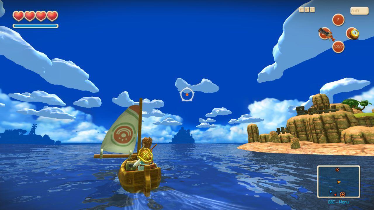 Oceanhorn per iPhone e iPad disponibile su App Store