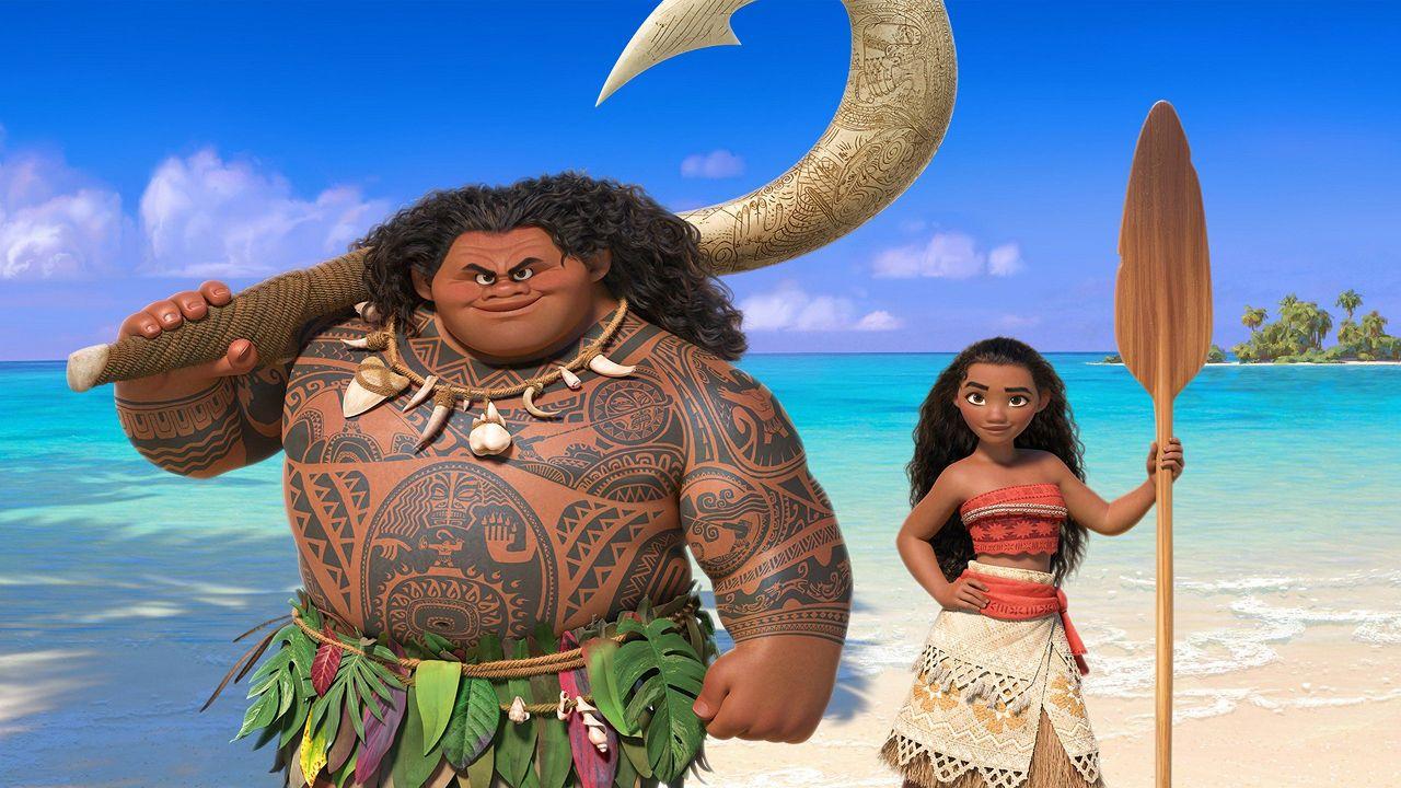 Oceania online l ultimo spot del nuovo film della disney