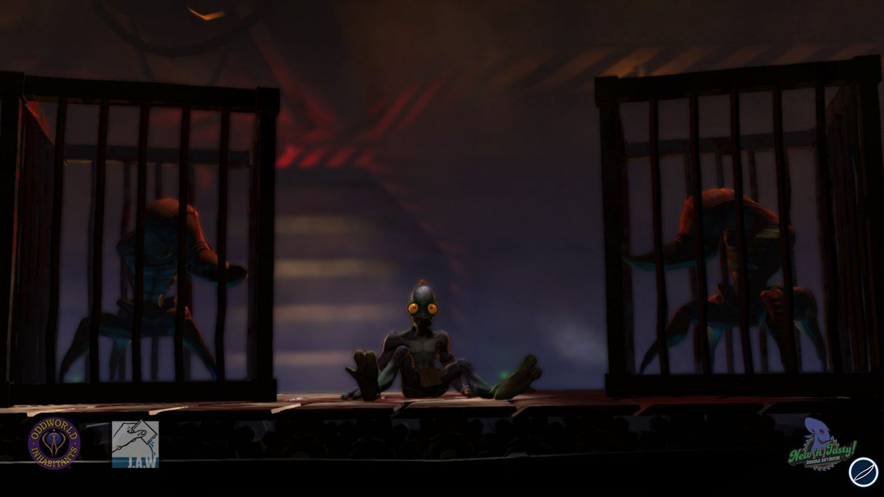 Oddworld: Abe's Oddysee HD sarà mostrato all'Eurogamer Expo. Prima immagine ufficiale