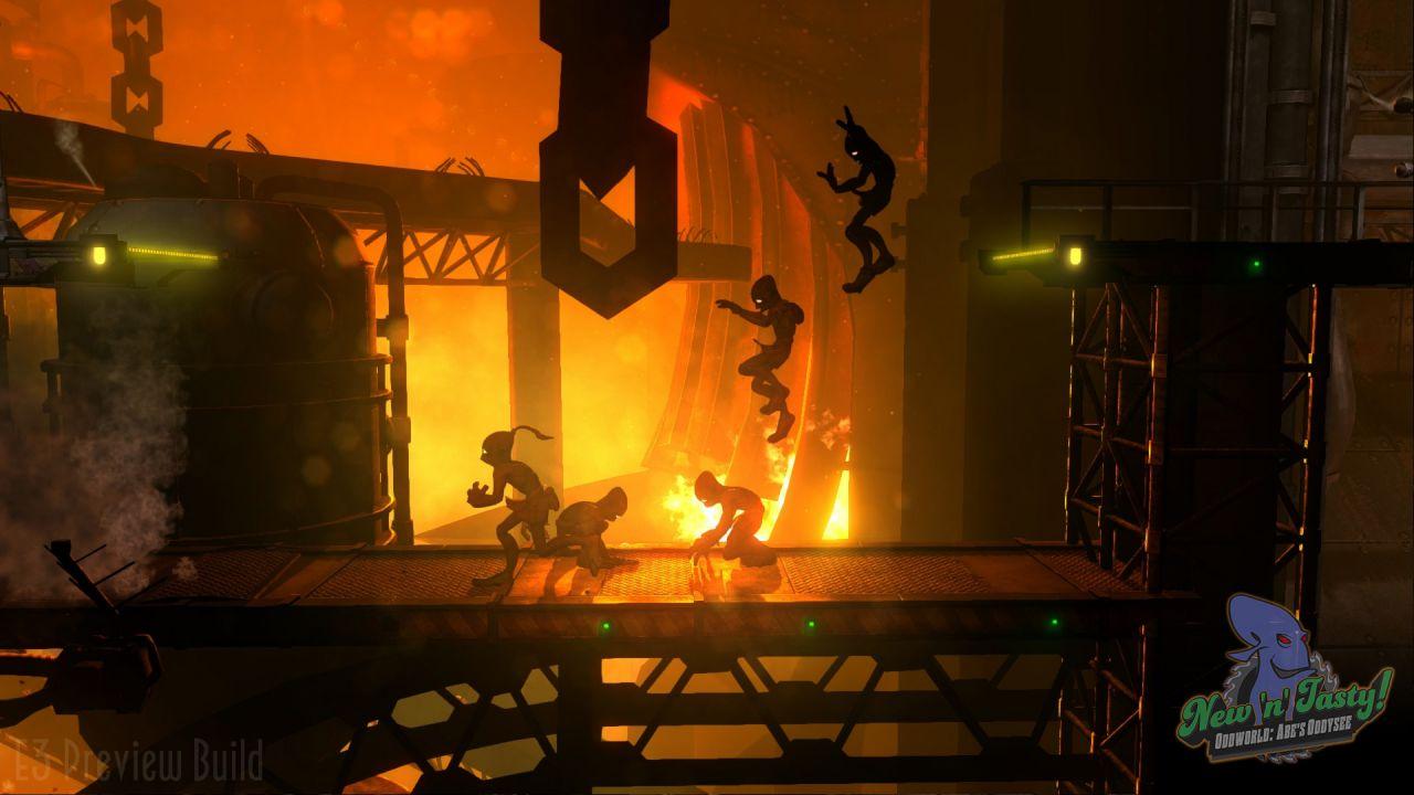 Oddworld: Abe's Oddysee New 'n' Tasty - Live Gameplay alle 14:00