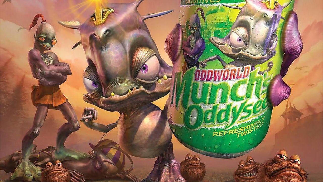 Oddworld Munch's Oddysee HD: nuova versione pubblicata su Steam