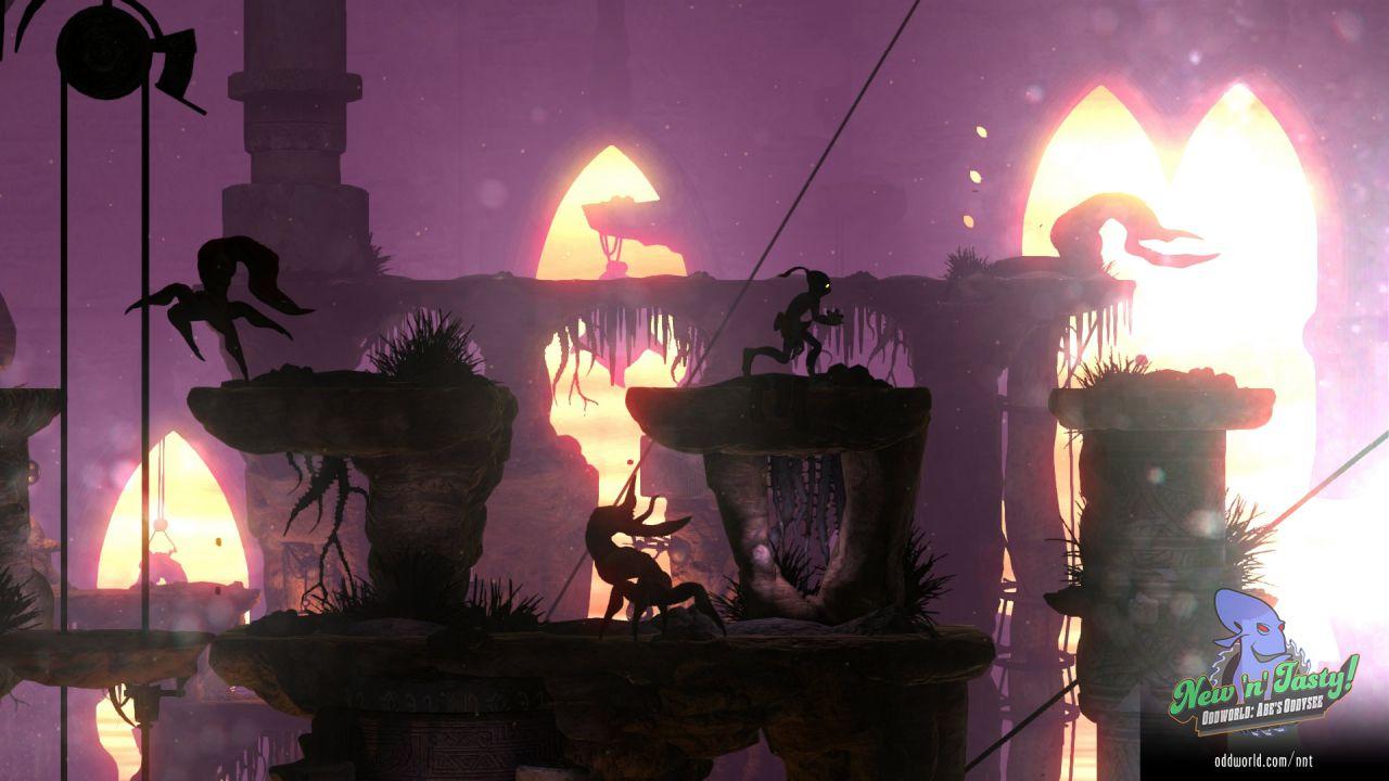 Oddworld: New 'n' Tasty per Wii U non è stato cancellato