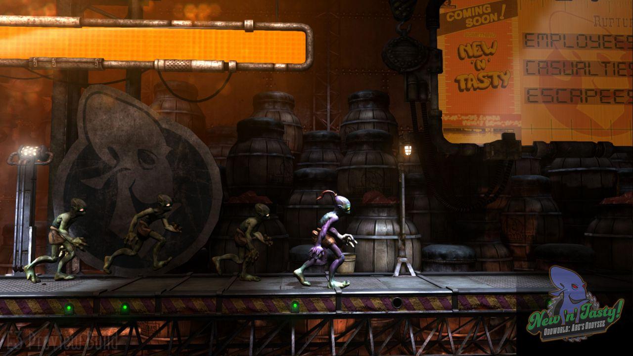 Oddworld: New n Tasty, rilasciate nuove immagini