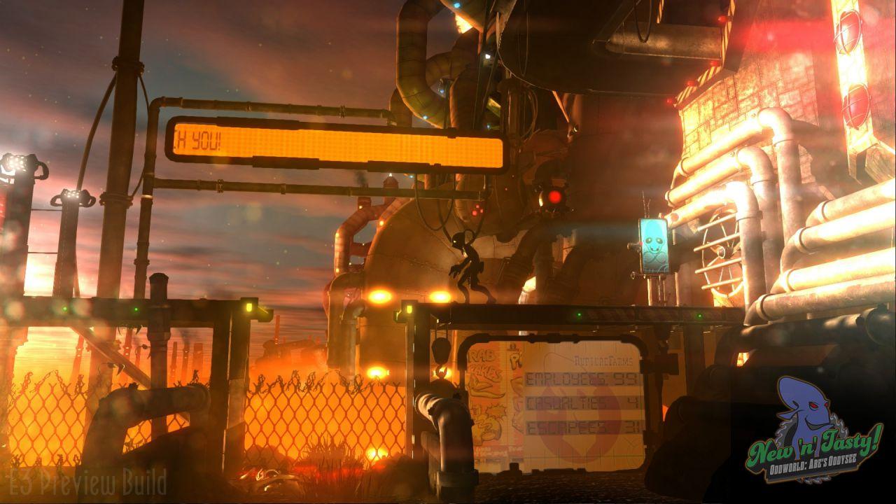 Oddworld: New 'n' Tasty uscirà il 23 Luglio su PlayStation 4