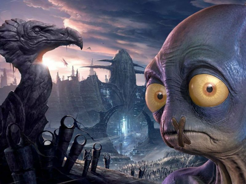 Oddworld Soulstorm: Abe in action at the Future Games Show