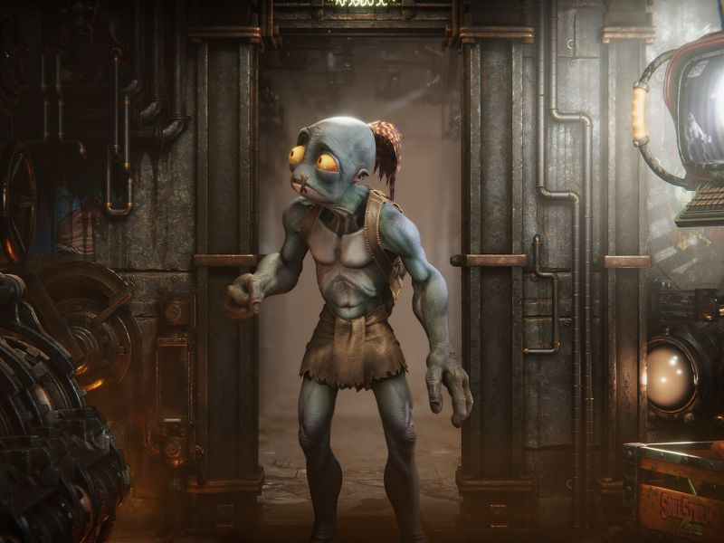 Oddworld Soulstorm in the home straight: Lanning tells 12 minutes of gameplay