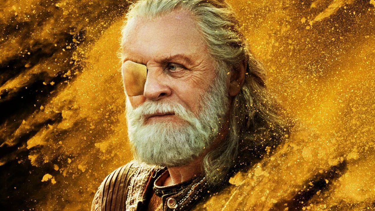Odino sulla Terra in una scena tagliata di Thor: The Dark World
